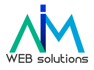 logo aim web solutions